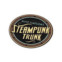 "2"" Aunt Matilda's Steampunk Trunk Decal"