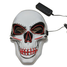 2 Color Light UP Skull Mask