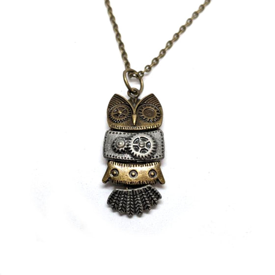 4 Piece Owl Necklace