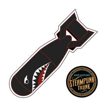 Dieselpunk Black Bomb Sticker
