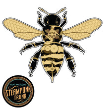 Steampunk Clockwork Bee Sticker