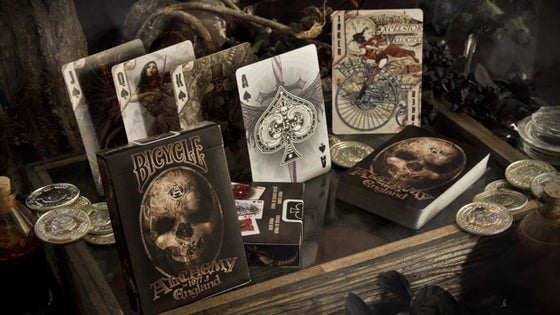 Alchemy Gothic Steampunk Playing Cards