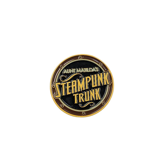 Custom Aunt Matilda's Steampunk Trunk Tack Pin