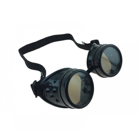 Goggles with Replaceable Lenses Black