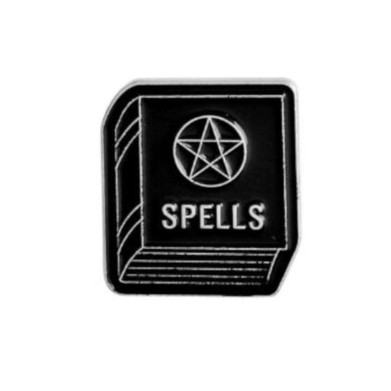 Book of Spells Tack Pin