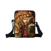 Mini Backpack Cat With Red Hat