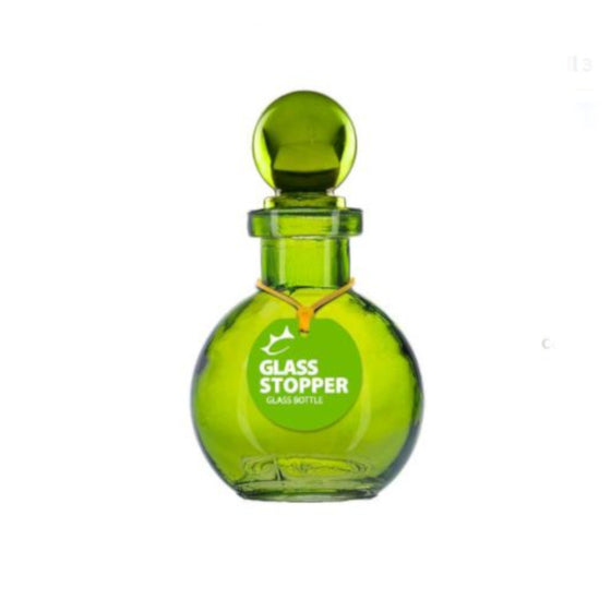 Glass Bottle with Stopper Large