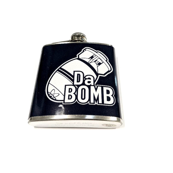 Stainless Steel 6oz Flask - Da Bomb
