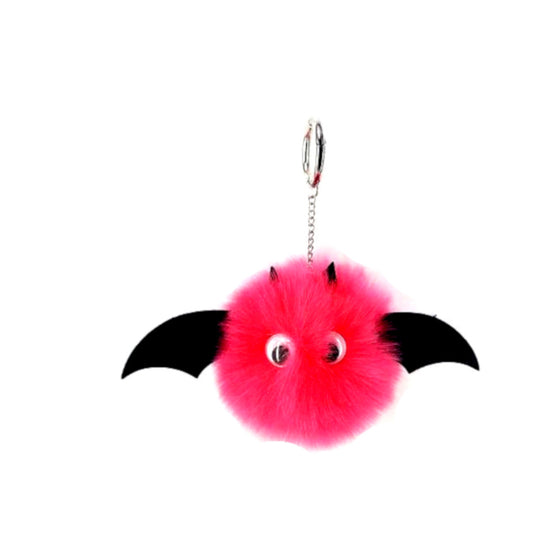 Fur Bat Key Chain