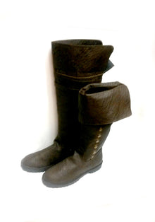 Brown Pirate Boots