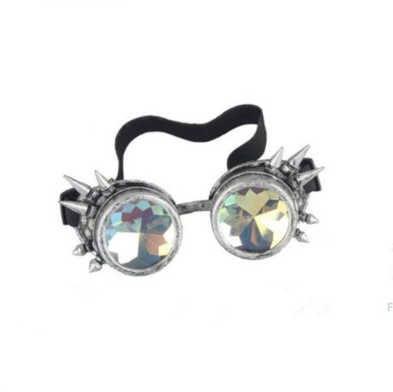 Kaleidoscope Spike Goggles Pewter