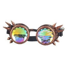 Kaleidoscope Spike Goggles Copper