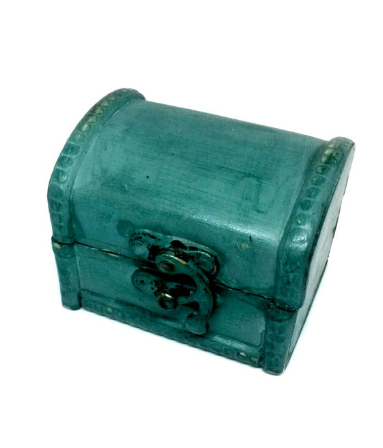 Mini Turquoise Treasure Chest