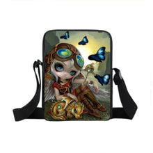 Mini Backpack Girl With Butterflies