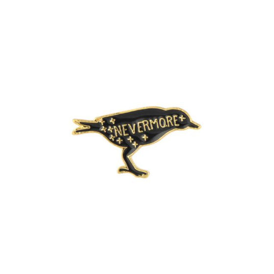 Nevermore Raven Tack Pin