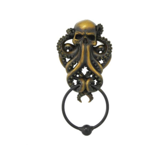 Octopus Skull Door Knocker