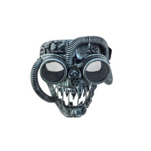 Punk Skull Mask With Tubes