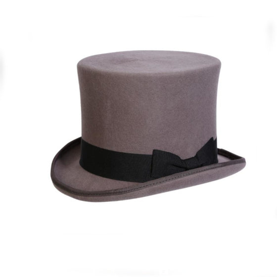 Quality Gray Top Hat