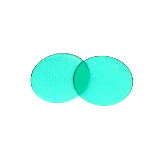 green goggle lens