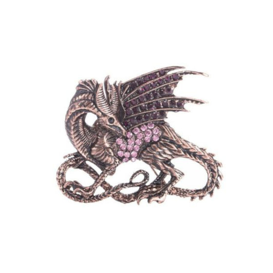 Dragon Rhinestone Pin
