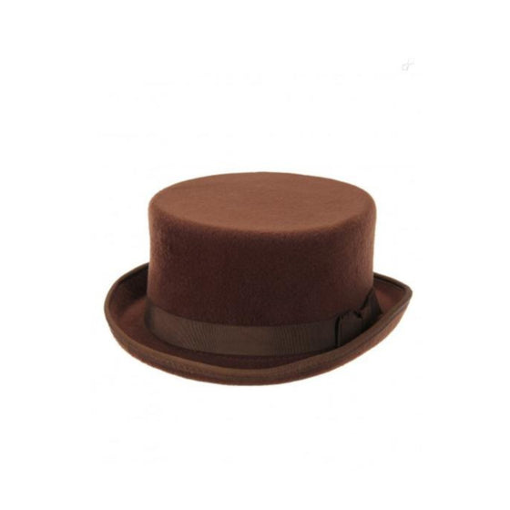 Short Top Hat Brown