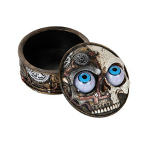 Steampunk Skull Moving Eye Box