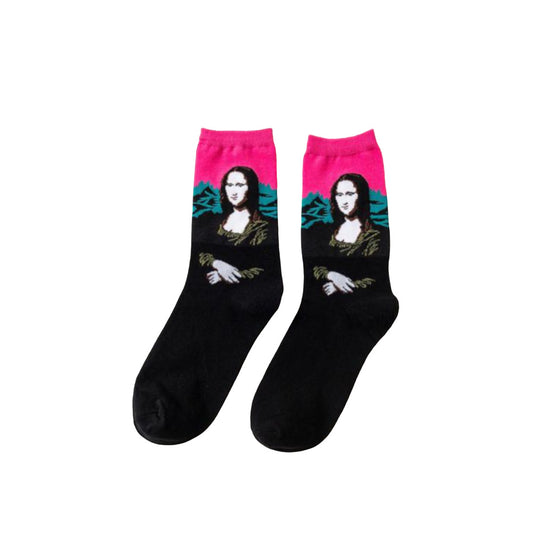 Socks Mona Lisa