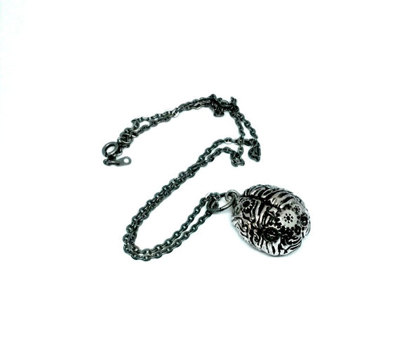 Steampunk Brain Necklace