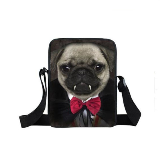 Mini Backpack Vampire Pug