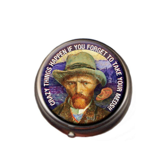 Van Gogh Pill Box