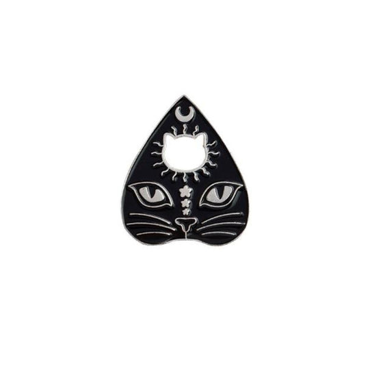 Cat Planchette Tack Pin