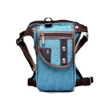 Canvas Hip Pouch - Teal