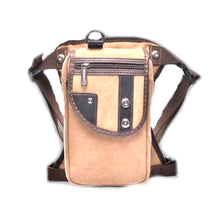 Canvas Hip Pouch - Tan