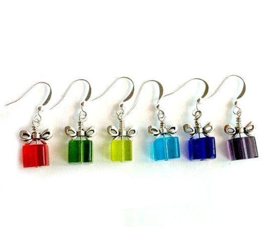 Gift Present Earrings