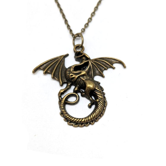 Dragon Circle Tail Necklace