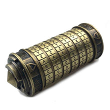 Cryptex Lock Brass