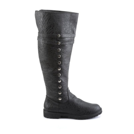 Fold Down Adventurer Boots Black