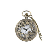 Clock Gears Pocket Watch