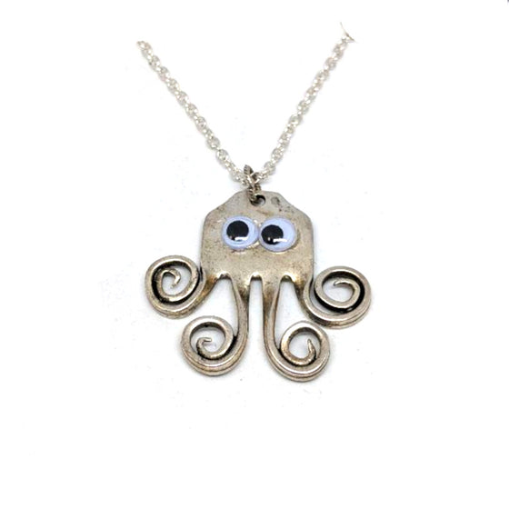 Fork Octopus Necklace
