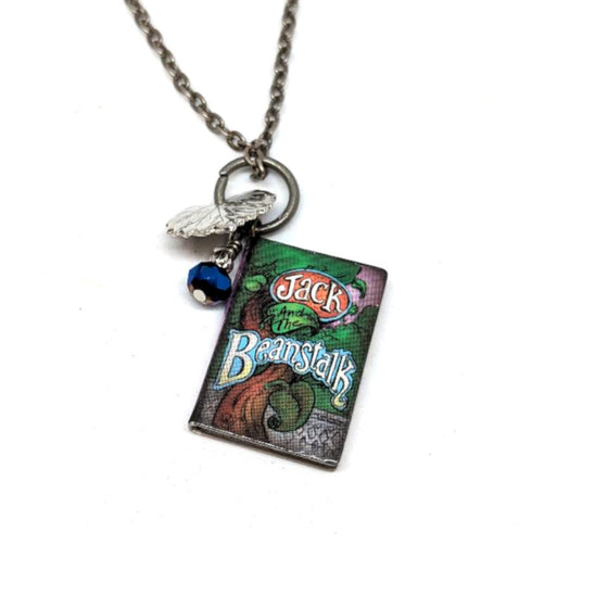 Storybook Jack and the Beanstalk Necklace