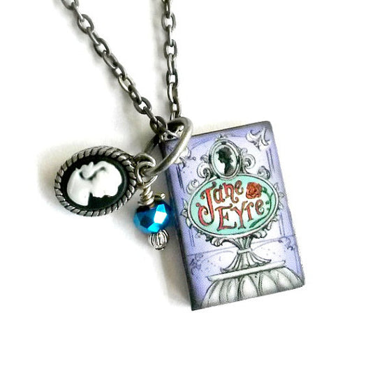 Jane Eyre Story Book Necklace