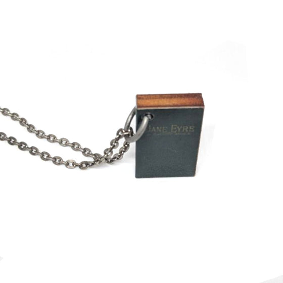 Jane Eyre Book Necklace