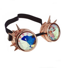 Kaleidoscope Spike Goggles Rose Gold