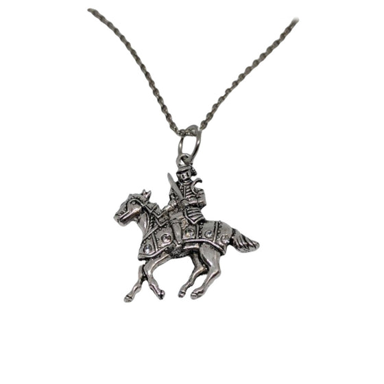Knight In Shining Armor Necklace