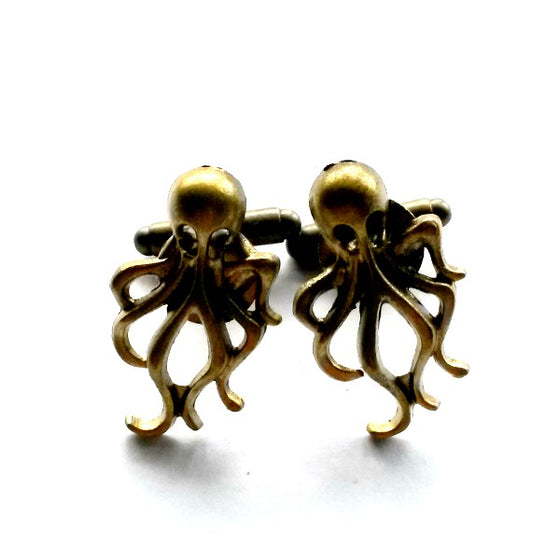 Octopus Cuff Links