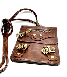 Phone Pouch with Gears