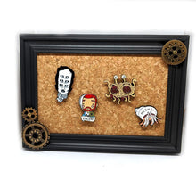 Framed Cork Pin Display