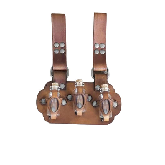 Elixir Bottle Holster Brown