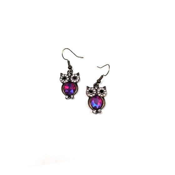 Red Belly Owl Dangles