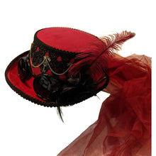 Red Hat with Black Trim
